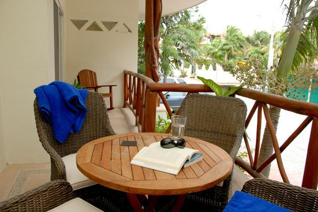 Balcony - Best Location In Playa-Steps to 5th Ave & Mamitas - Playa del Carmen - rentals