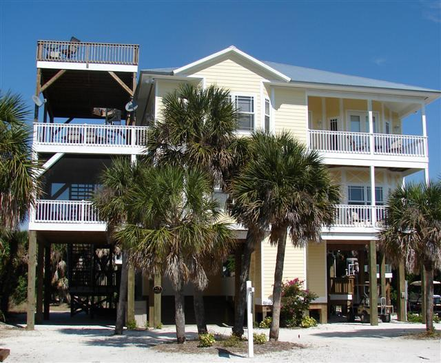 Moondance 9600 sq ft with all decks/porches - Moondance of N. Captiva 4 Bed 3 FB, Pool, Elevator - North Captiva Island - rentals