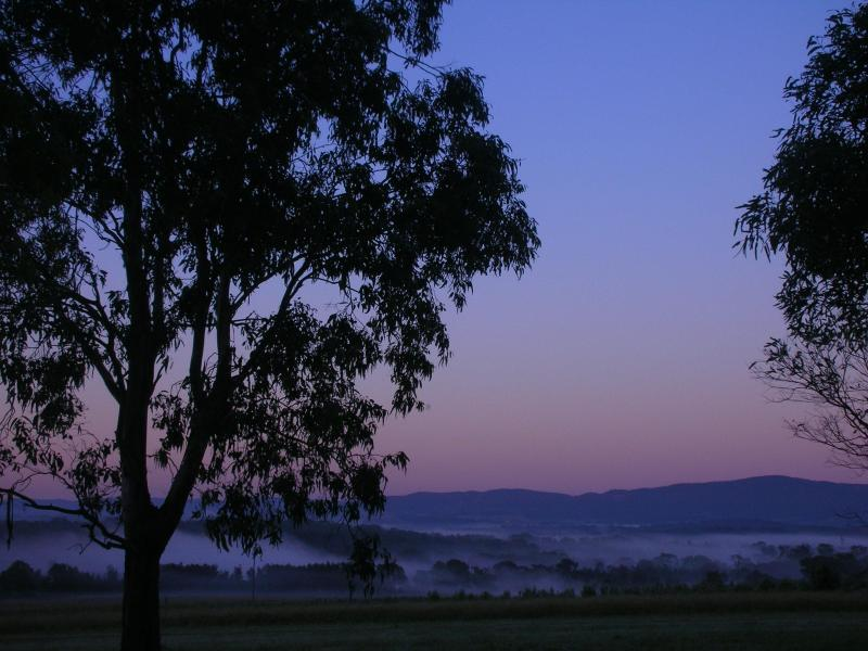 Sunset from the Country House - Bluebush Estate - Book your own private Estate! - Lovedale - rentals
