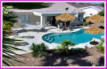 Peaceful Contemporary Private Pool & Jacuzzi Home - Image 1 - Lake Havasu City - rentals