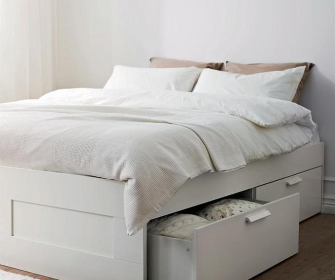 Queen size bed with plenty of pillows and storage - HOT DEAL! Private Studio HARAJUKU, Shibuya - Minato - rentals