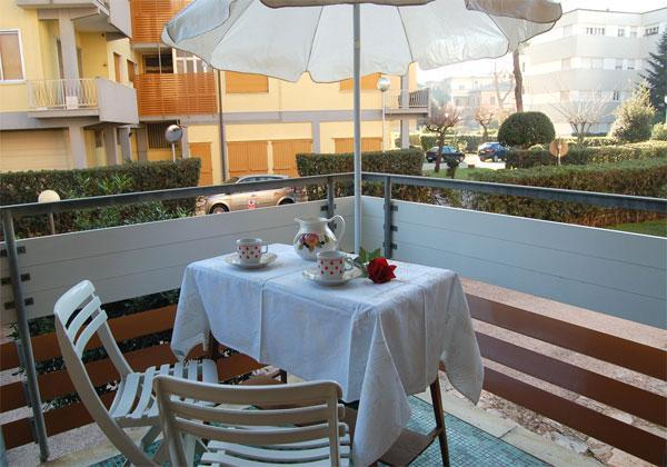 Balcony - Attractive apartment in Viareggio - Viareggio - rentals