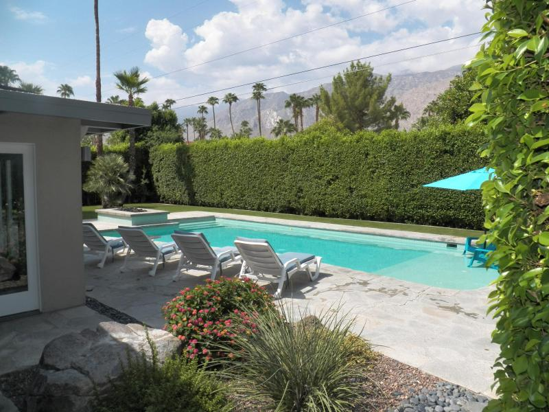 Pool deck and View - MId-Century Class 3/2  Private Pool Amazing Views - Palm Springs - rentals