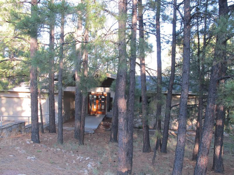 Cabin on the 14th Tee is Shaded by Southwest Ponderosa Pines - Cabin On The 14th Tee - A Luxurious Retreat - Flagstaff - rentals