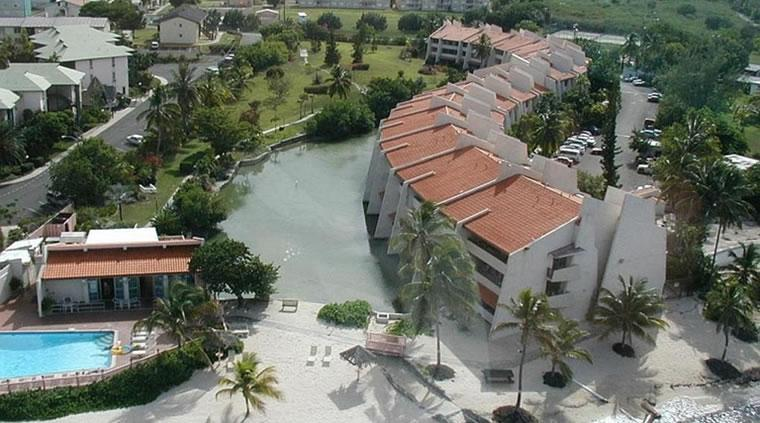 View Of Our Condo From The Air - Firebird's Fancy - 3 BR 3 Bath St. Croix Condo - Christiansted - rentals