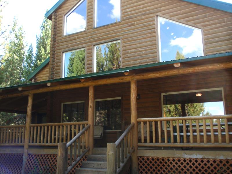 Whispering Pines--north view - Whispering Pines Forest Retreat near Yellowstone - Island Park - rentals