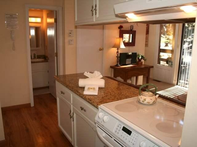 kitchen and living room - Heavenly Ski in/out Condo Best on Mtn Base of Tram - South Lake Tahoe - rentals