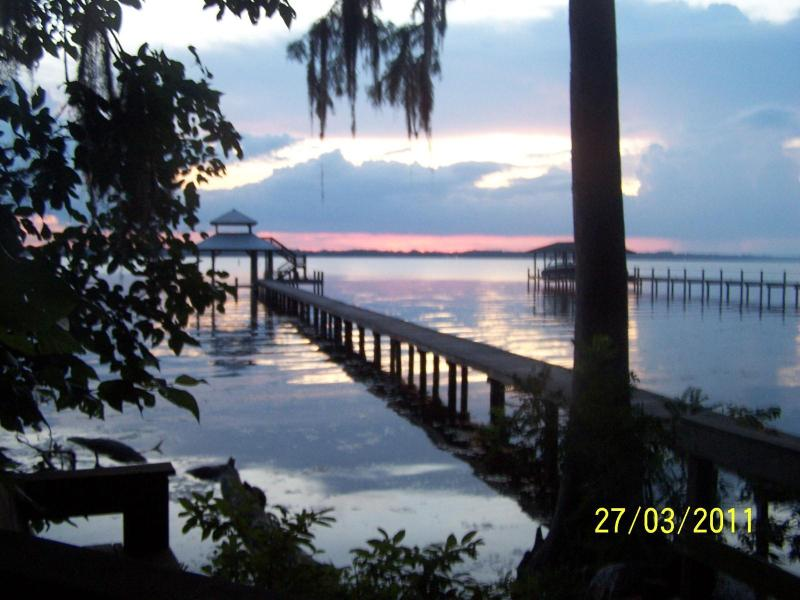 spectacular  sunsets - Nature's Sanctuary, Riverfront with Dock and Pool - Jacksonville - rentals