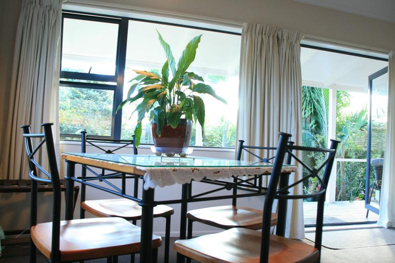 your view to garden - Lazy Daze Cottage and Homestay. - Bay of Plenty - rentals