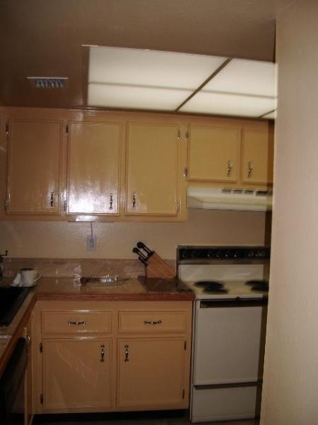 Kitchen from hallway - Windrush Condominiums #713 - Cocoa Beach - rentals