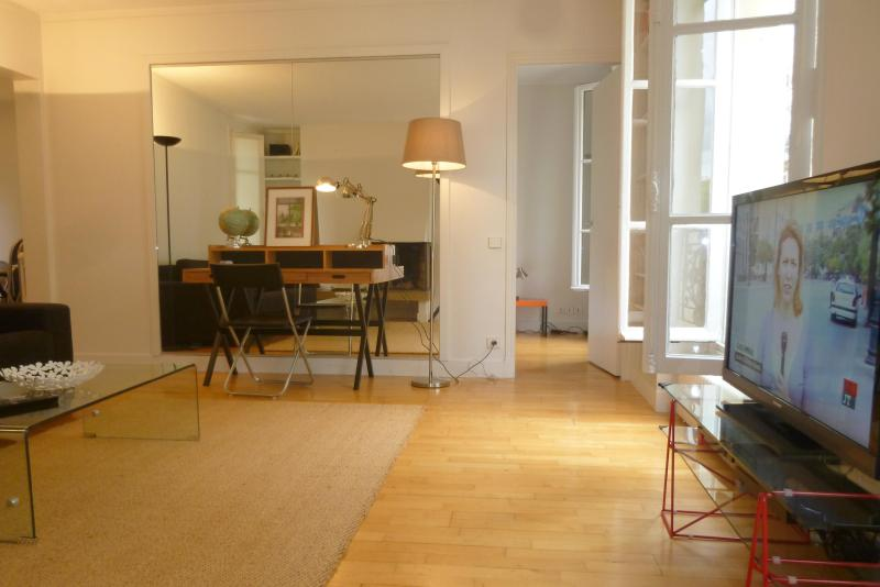 Living room - Ideal apartment in St Germain des Pres - Paris - rentals