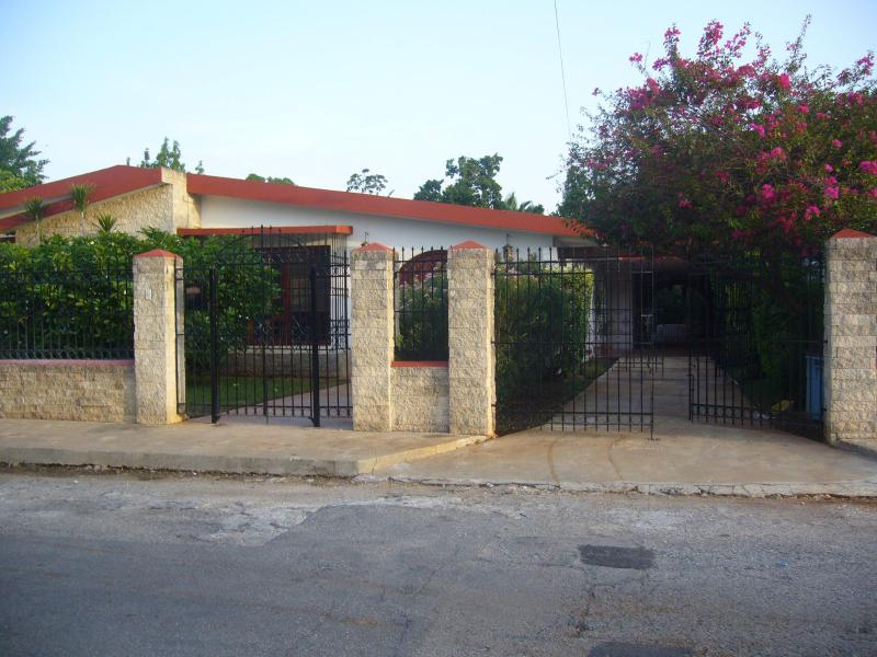 Casa Itzimna Street Entrance - Modern Hacienda Villa in Historic Itzimna Area - Merida - rentals