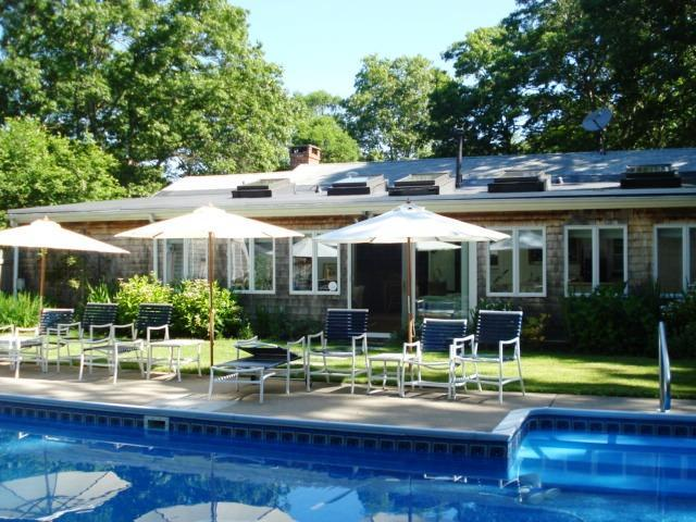 POOL WITH BACK OF HOUSE - 3 BR,/3BA Executive Home With Hugh Heated Pool - West Yarmouth - rentals