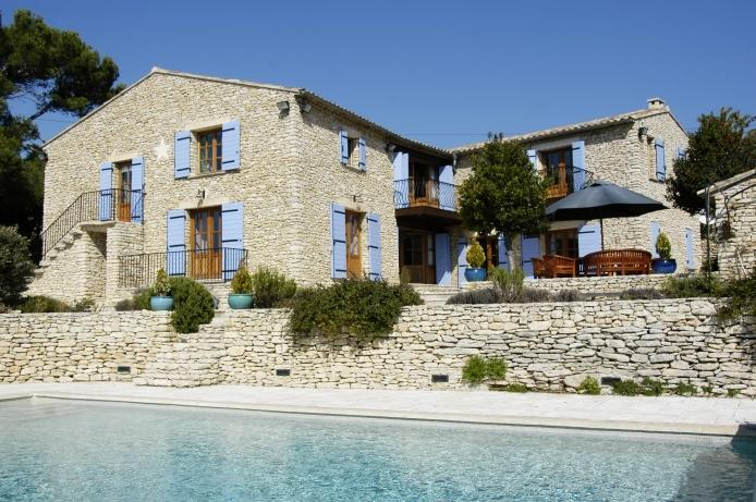 A large provençal property overlooking the valley - Le Mas de Sidonie - Luberon - rentals