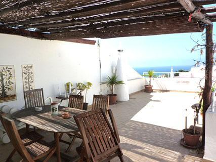 Sea view from terrace - 2 bedroom townhouse Albufeira Portugal with views - Albufeira - rentals