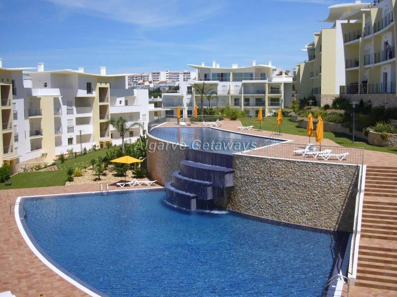 Swimming pool - Superb Penthouse with sea views in Albufeira. - Albufeira - rentals