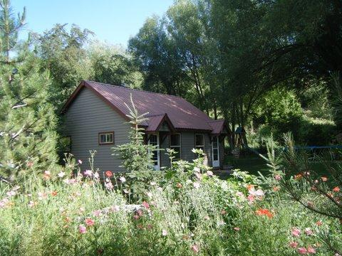 The Cottage in Summer - Fisherman's Cottage**Right on the Provo River - Sundance - rentals