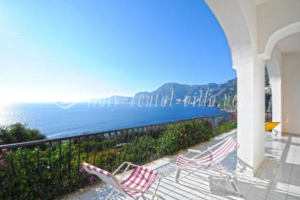 the view - Villa Marina - stunning view and silence - Praiano - rentals