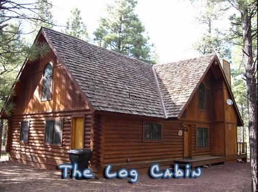 Front of Cabin - Log Cabin On National Forest - Pinetop - rentals