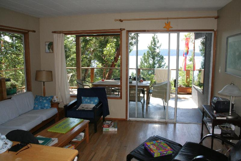 Sunny, Oceanview House - Private and Secluded - Image 1 - Galiano Island - rentals