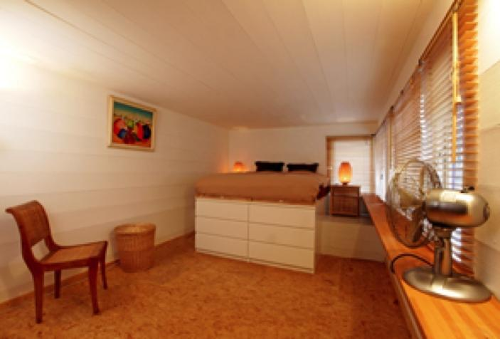 Bedroom - Da Costa Boat: Romantic houseboat in Amsterdam - Amsterdam - rentals