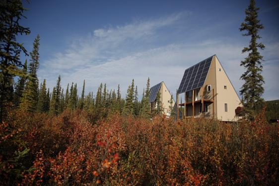 Bright fall colors (September). - 2 Bed Rm Cabin Seeks Adventurers. Private & Quiet! - Fairbanks - rentals