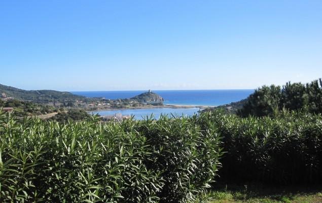 Sea View in Su Giudeu - Charming Villa, sea view by the amazing Chia beach - Domus de Maria - rentals