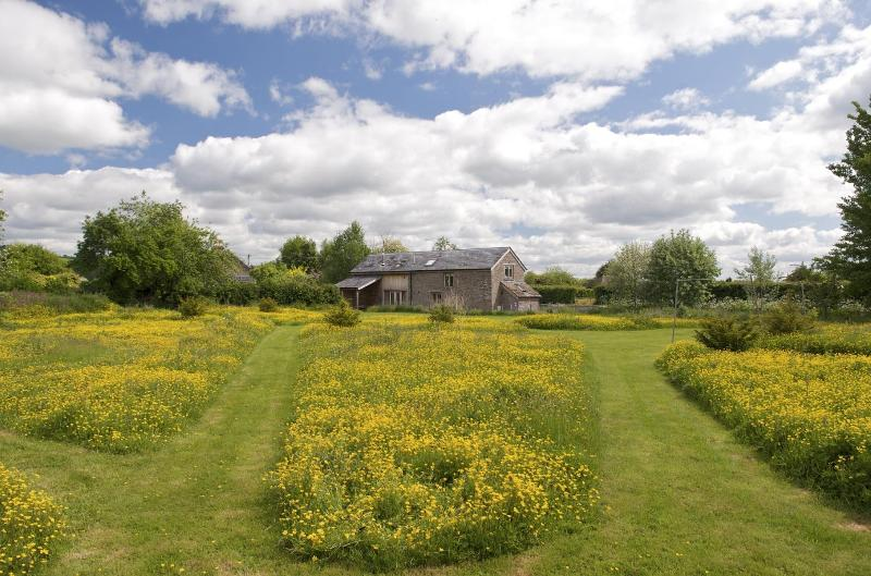 The Peren within its own private quiet space - The Peren Luxury self catering barn  Hay on Wye - Hay-on-Wye - rentals