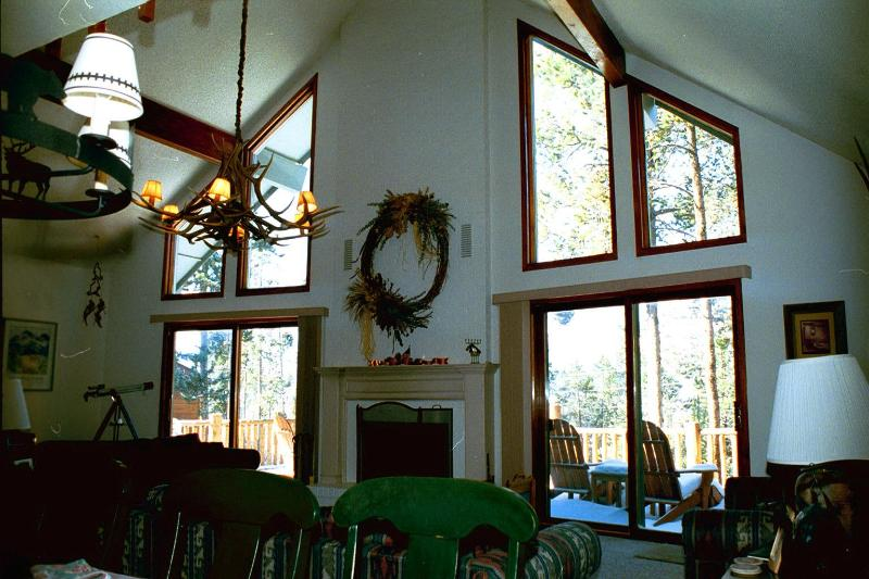 Mountain view,wood burning fireplace, and piano - Five bedroom home in Colorado Mountains - Dillon - rentals