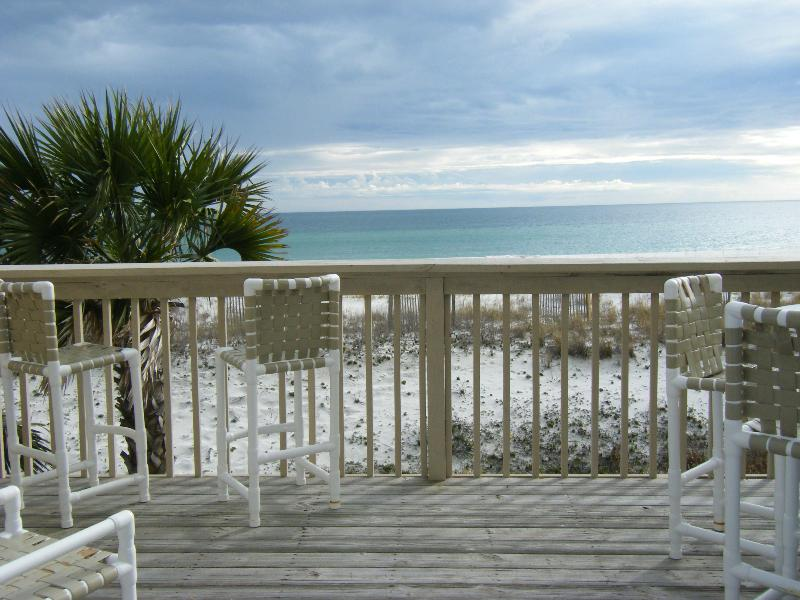 View from balcony - Gulf Front Cottage - Pensacola - rentals