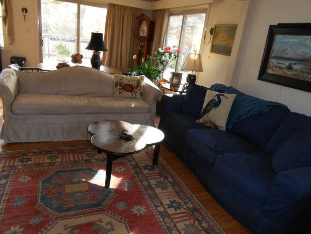 Living Room - Beautiful Cape Cod Home Near Bay and Ocean Beaches - Eastham - rentals
