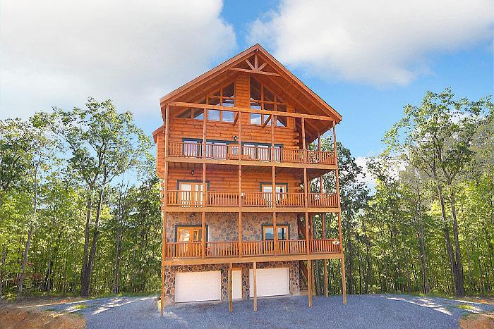 Fit For A King-7br/6ba-sleeps 28-best View In Town - Image 1 - Pigeon Forge - rentals