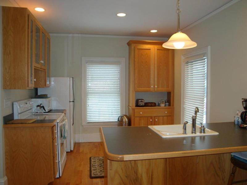 Full, sunny kitchen - Beautiful two-story luxury apartment in Camden, ME - Camden - rentals