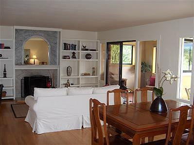 Living- Dining Room & Sunroom - Lovely view home on San Francisco Bay - San Rafael - rentals