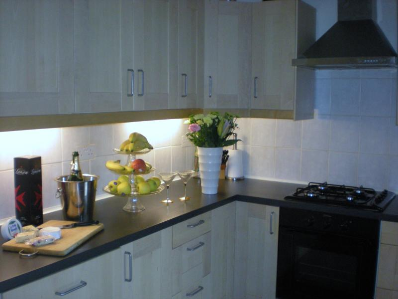 Spacious Kitchen with Integrated Appliances. - 4 Bedroom house in Edinburgh with Private Parking - Edinburgh - rentals