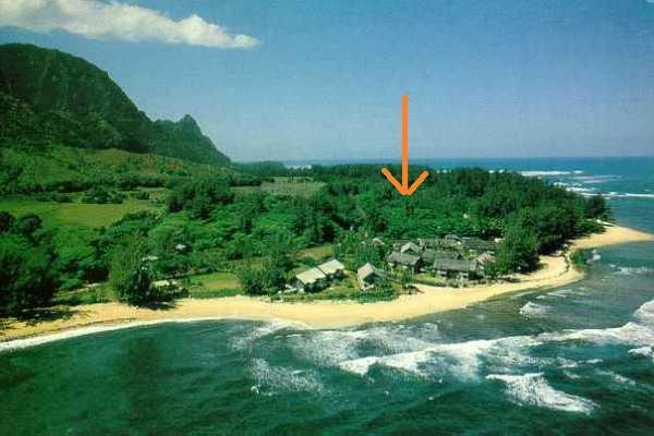 Walk to beach stretching for miles in both directions - Short walk to Beach, Updated, A/C, From $1470/week - Haena - rentals