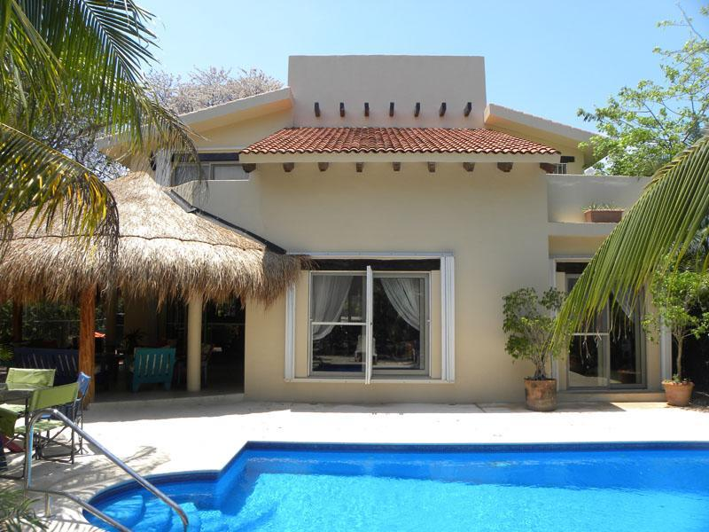 Backyard - 5 BR Secluded Villa with Private Pool and Jacuzzi - Playa del Carmen - rentals