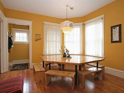 Custom Table for 12 for Family and Friends - Fun House- Walk Downtown - Real Seattle Living - Seattle - rentals