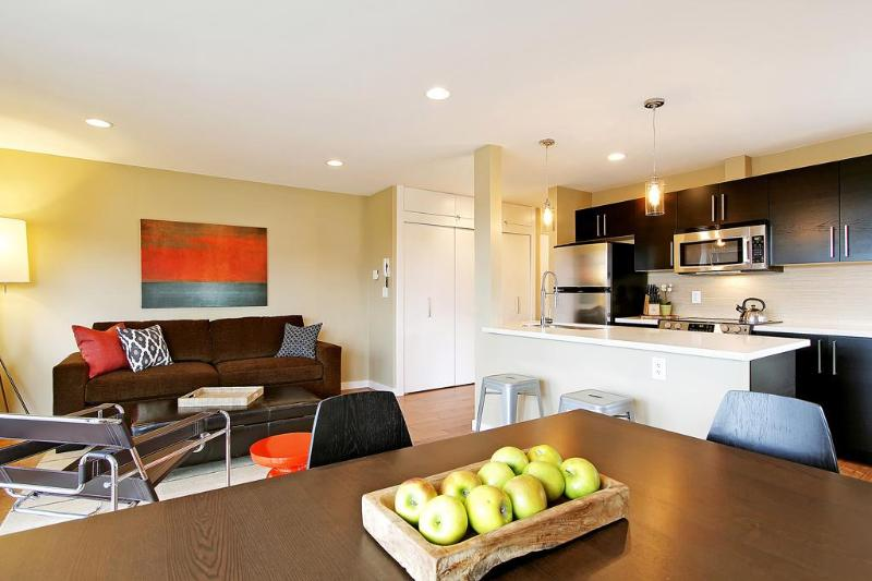 Spacious, light filled living/dining room - New, Modern, Luxury, in the heart of Capitol Hill - Seattle - rentals