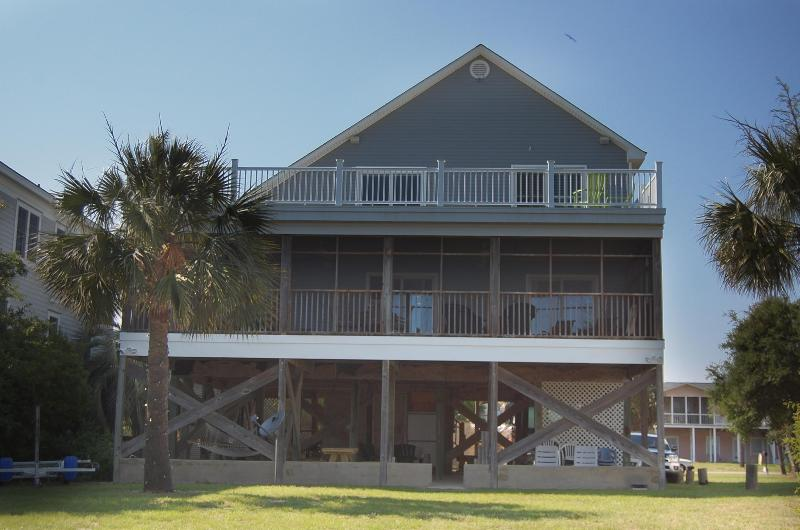 Ocean Dream six bedroom house on the front beach - Image 1 - Isle of Palms - rentals