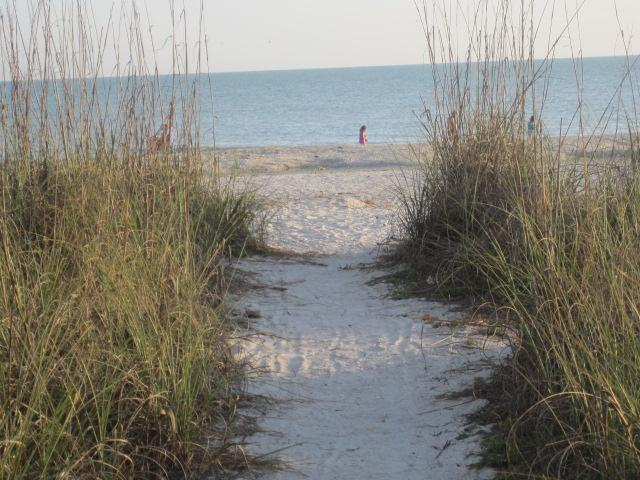 Beach Access for Dolphin House guests - beautiful & private (7 minute walk) - Dolphin House, walk to beach - Sanibel Island - rentals