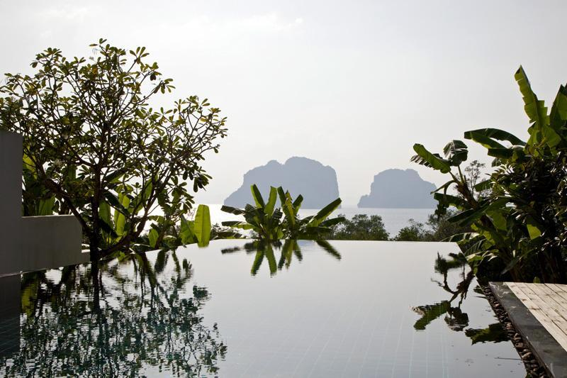 Infinity swimming pool - Luxury Sea View Private Pool Villa in Krabi - Ao Luek - rentals