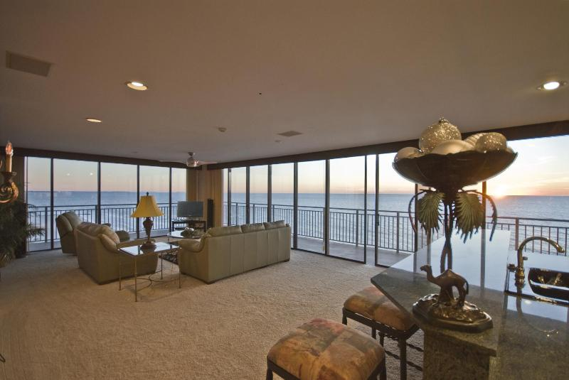 100% Gulf Views from every window! - BEST SUNSET!  100% GULF FRONT CORNER UNIT! AMAZING - Treasure Island - rentals