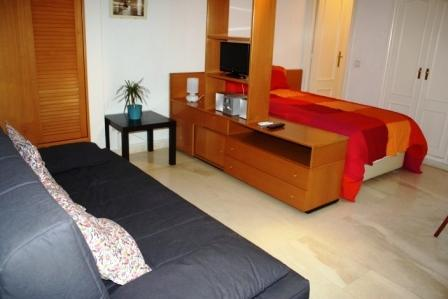 Our Estudio Rubí flat makes the most of its space. - Chic 5-guest studio ¡¡DISCOUNTED FOR MARCH '12!! - Madrid - rentals