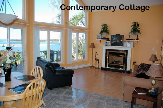 Contemporary Cottage - Baie Ste Marie Oceanfront Cottages - New Edinburgh - rentals