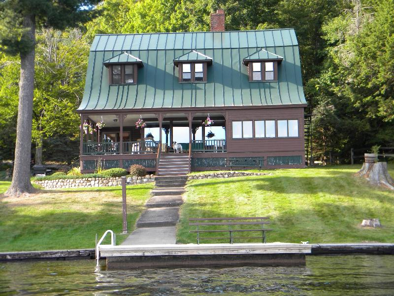 Moss Rock Lodge - Adirondack Lodge on Fourth Lake - Old Forge - rentals