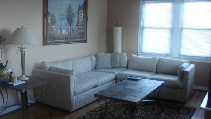 Sunlit Living room - 4 Level Family home with private pool - Oxon Hill - rentals