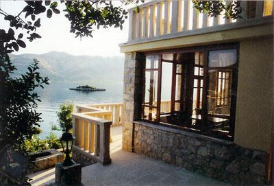 View of loggia and sea - Upscale home on the Adriatic sea in Korcula - Korcula - rentals