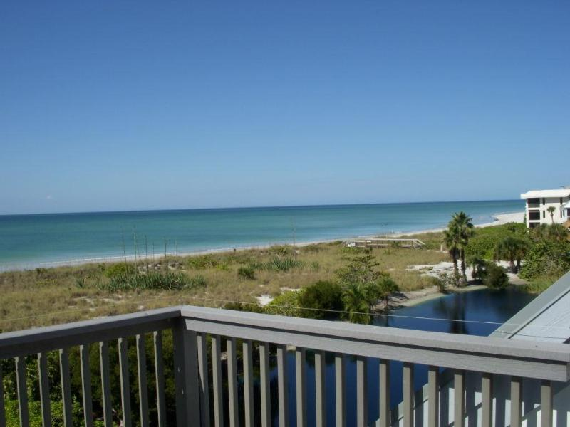 View from the upper deck - Boca Grande beachfront house with spectacular view - Boca Grande - rentals