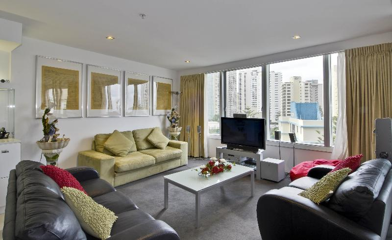 Lounge - Q1 Building, Apartment 603 - Surfers Paradise - rentals